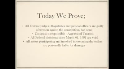 Treason defined