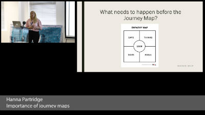 Hanna Partridge: Importance of Journey Maps & Pain points