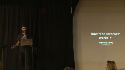 Julien Melissas: How the Internet Works