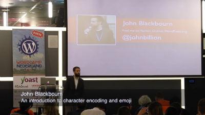 John Blackbourn: An introduction to character encoding and emoji