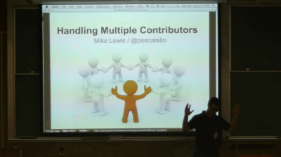 Mike Lewis: How To Manage Multiple Contributors and Content