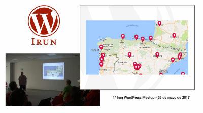 Pablo Moratinos: Irun WordPress Meetup - Presentación