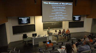 Brian Rotsztein, Christie Chirinos, Tippi Thole, Tom Hartman, Jennifer Doré Dallas: Panel: WordPress Business Advice