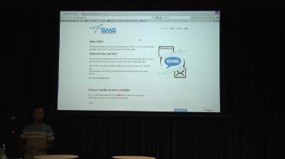 Ralf Wiechers: SMS service demo for Digital Nomads