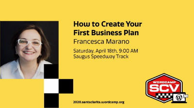 Francesca Marano: How to Create Your First Business Plan