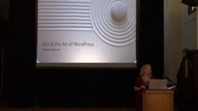 Deena Mayne: Zen and the Art of WordPress