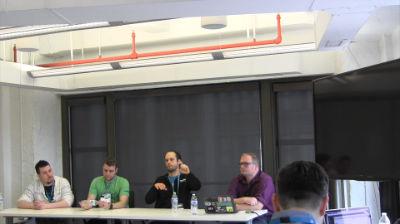 Adam Stogdill, Brian Richards, Kellen Mace, RJ Mey: GutenPanael