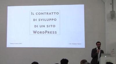 Giorgio Trono: Il contratto di sviluppo di un sito WordPress