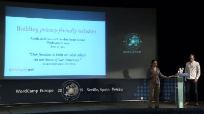 Amelia Andersdotter and Anders Jensen-Urstad: Building Privacy-Friendly Websites