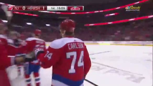 sale retailer 6b075 6f34f Washington Capitals Down New Jersey Devils 6-3; Nicklas ...