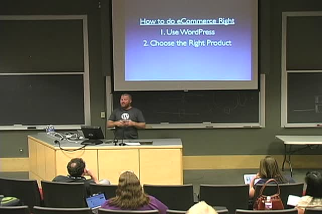 Matt Jones: WordPress for the eCommerce