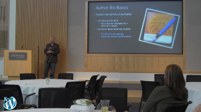 Shane Purnell: Telling Your Story With About Pages and Author Bios