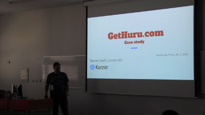 Marek Gach - Případová studie Gethuru.com