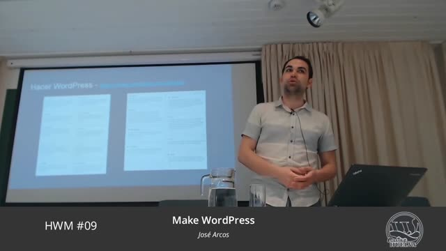 José Arcos: Make WordPress