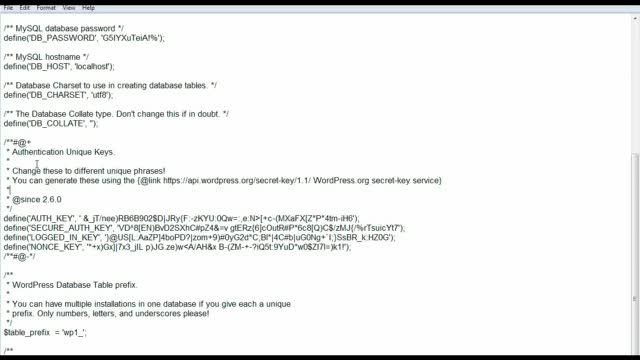 Run multiple WordPress installations from a single MySQL