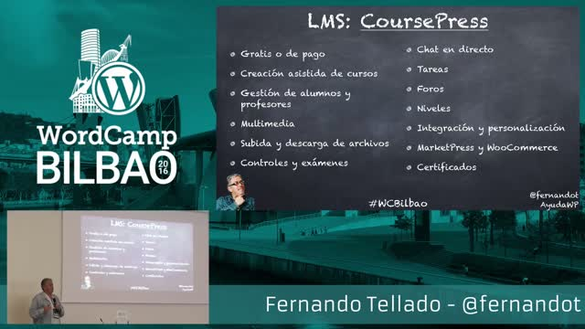 Fernando Tellado: Usos y oportunidades de WordPress en la educación