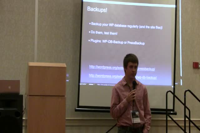 David Wilemski: An introduction to WordPress security