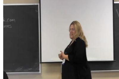 Leslie Hancock: Developing a Distinctive Online Voice