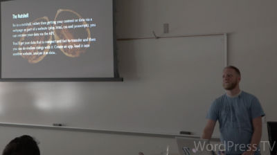Evan Mullins: A.P. Why? WP REST API And See What It's Making