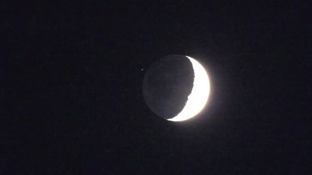 A Stellar Occultation by the Moon – The Amazing Sky