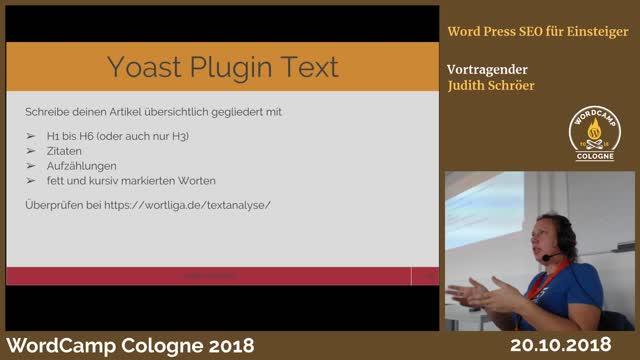 Judith Schröer: WordPress SEO für Einsteiger