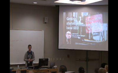 Josh Gellock: Getting started with local SEO
