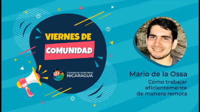 Mario de la Ossa: Cómo trabajar eficientemente de manera remota