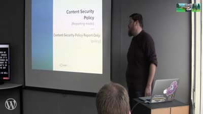 Tim Nash: Using Security Headers to help secure your site