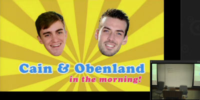 Konstantin Obenland and Michael Cain: Cain and Obenland In The Morning!