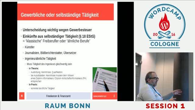 Udo Meisen: Freelancer und Finanzamt
