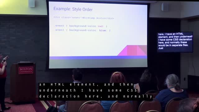Amanda Giles: Using CSS to Update your WordPress Website