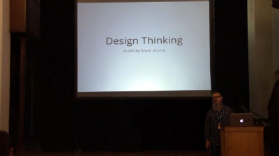 Mark Uraine: Design Thinking (thinking like a designer)