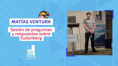 Matías Ventura: Sesión de «preguntas y respuestas» sobre Gutenberg