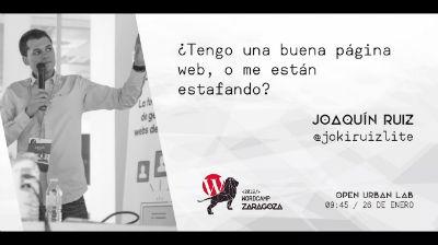 Joaquín Ruiz: ¿Tengo una buena página web, o me están estafando?