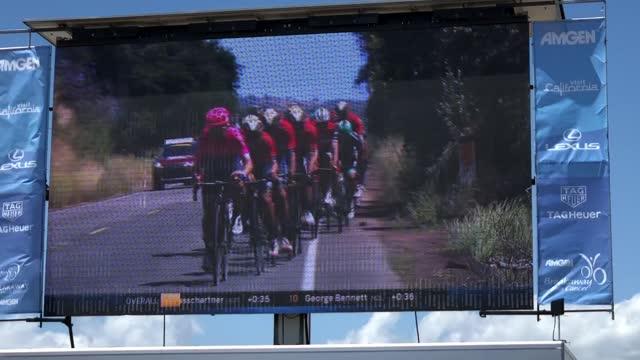 EF Santa Barbara Students at AMGEN Tour of California