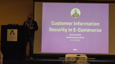 Andrew Wikel: Customer Information Security in E-Commerce