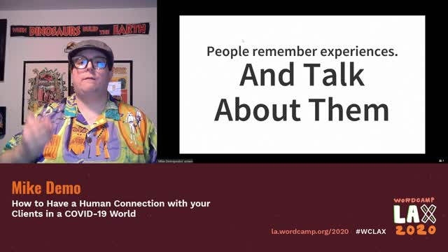 Mike Demopoulos: How to Have a Human Connection to your Clients in a COVID-19 World