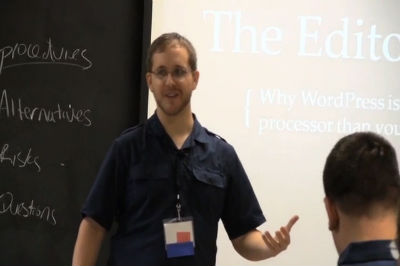 Brandon Kraft: Why WordPress is a More Powerful Word Processor Than You Think