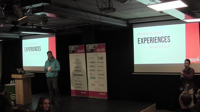Sjoerd Blom: Opening Remarks WordCamp Utrecht 2018