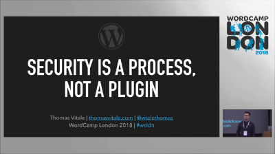 Thomas Vitale: Security Is a Process, Not a Plugin
