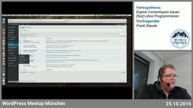 Frank Staude: Eigene Contenttypen bauen (fast) ohne Programmieren