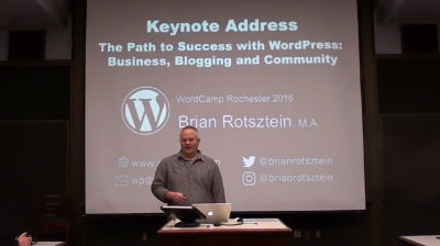 Brian Rotsztein: Keynote Address