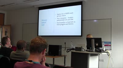 Heather Burns: WordPress GDPR Compliance Project