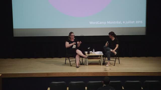 Élise Desaulniers and Marianne Prairie : Discussion entre blogueuses – « la parole des femmes sur le Web »