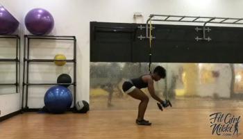 Fit Girl Nikki, LLC | Dumbbell Full Body Combo (Pushup