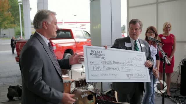 Wyatt Johnson Toyota >> Wyatt Johnson Donates To Cmcss Focus