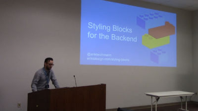 Erik Teichmann: Styling Blocks for the Backend