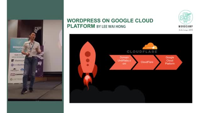 Lee Wai Hong: WordPress on Google Cloud Platform