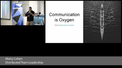 Matty Cohen: Distributed Team Leadership – How we get things done