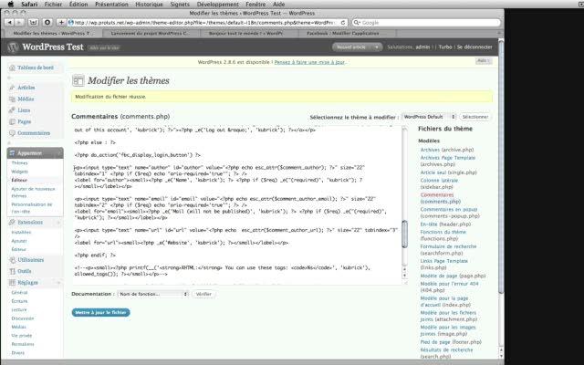 Intégrer un module Facebook Connect sur votre blog WordPress